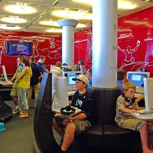 Интернет-кафе Суны