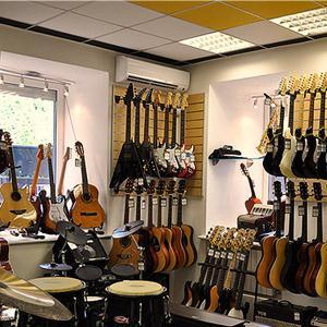 Музыкальные магазины Суны
